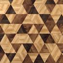 Lijm PVC Moduleo Moods Triangles Playful Country Oak 54880 & Country Oak 54991 & Classic Oak 24235