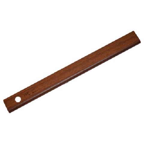 Afwerklijst met plakstrip mahonie