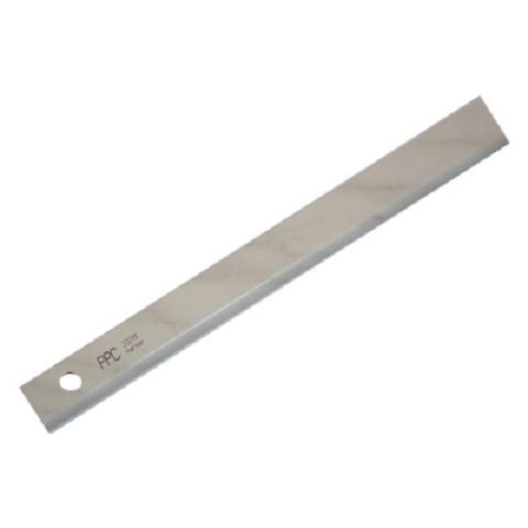 Afwerklijst met plakstrip marmer