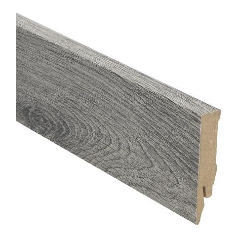 Hoge plint 70x14 eiken geborsteld grijs