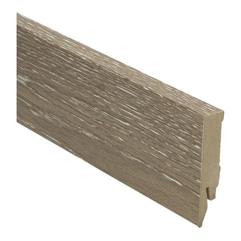 Hoge plint 70x14 eiken geschraapt grijs