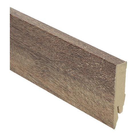 Hoge plint 70x14 eiken geborsteld bruin