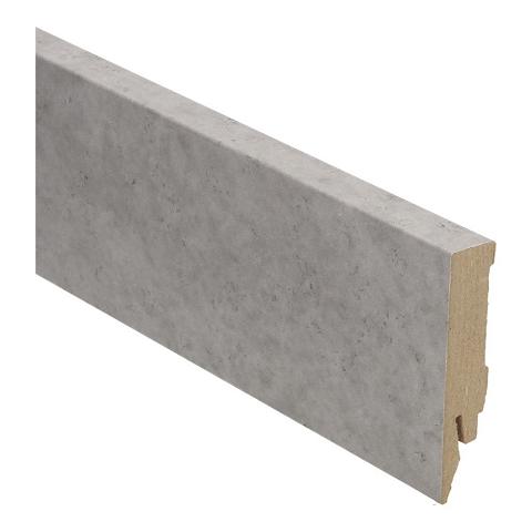 Hoge plint 70x14 tegel grijs