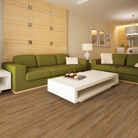 Klik PVC COREtec WOOD Dakota Walnut - 127 x 1220 x 8 mm