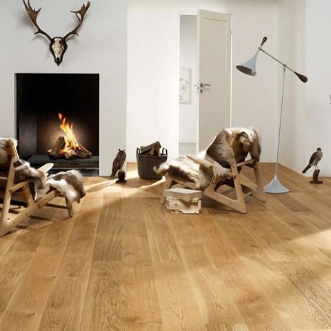 Eiken klik houten vloer Urban Mat Gelakt