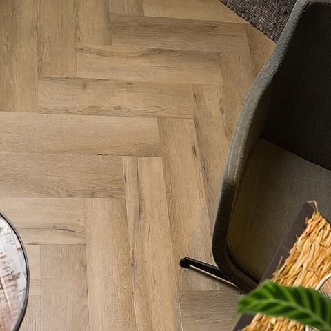 VIVA Lijm PVC Visgraat Wood Touch 6850V