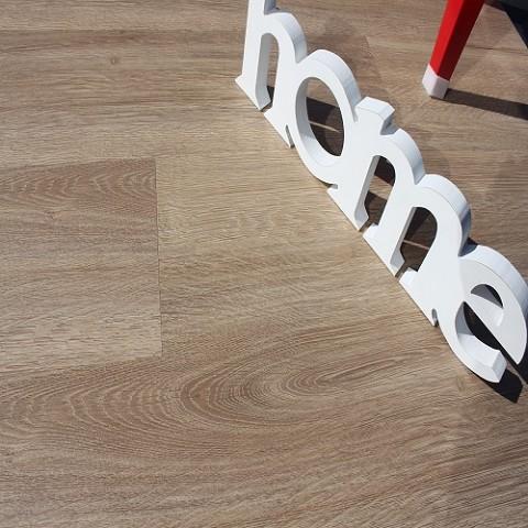 Lijm PVC Vloer Sensation Extra Breed Eiken Gekalkt 0,2mm Toplaag