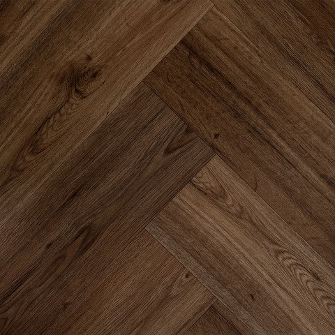 Lijm PVC Sensation Visgraat Luxurious Black Walnut 0,55mm Toplaag