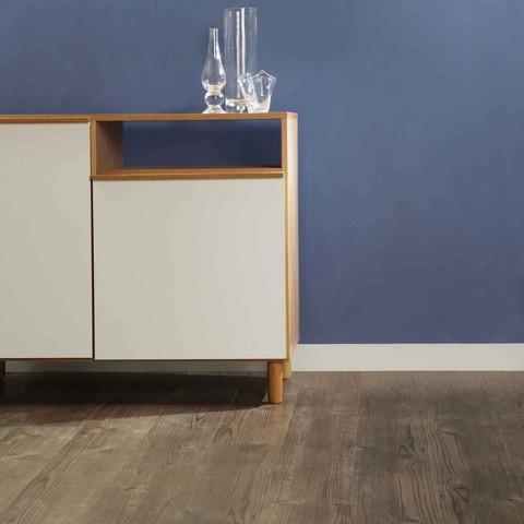 Lijm PVC Sensation Luxurious Smoked Cedar 0,55mm Toplaag