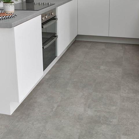 Lijm PVC Tegel Sensation Luxurious Gallery Concrete 0,55mm Toplaag