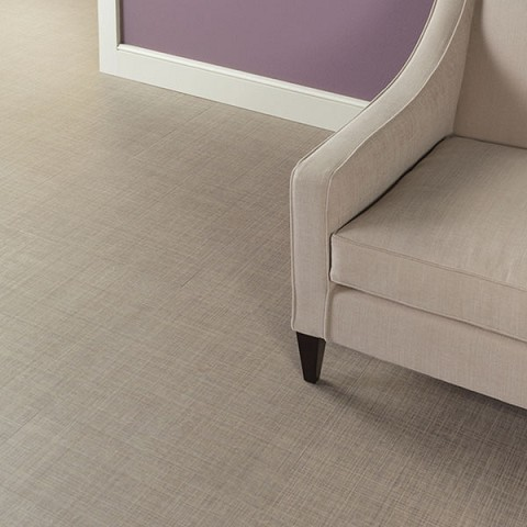 Lijm PVC Tegel Sensation Luxurious Linen Weave 0,55mm Toplaag