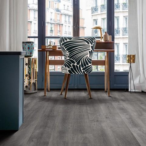 Lijm PVC Vloer Sensation Extra Breed Grey Bleeched Oak 0,55mm Toplaag
