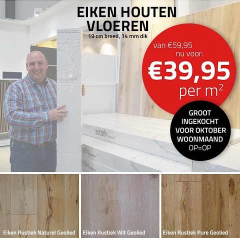 Quercus Actum Eiken Rustiek Wit Geolied 1900x190x14/3
